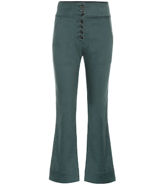Ulla Johnson - Ellis high-rise cropped jeans - mytheresa.com