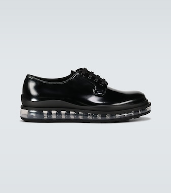 Prada - Derby shoes with clear sole - mytheresa.com