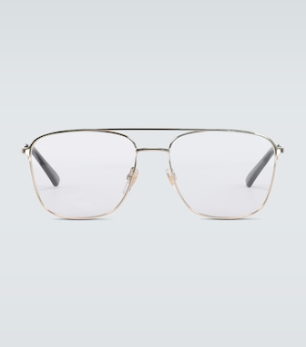 Gucci - Square-framed aviator glasses - mytheresa.com