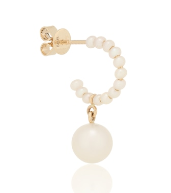 Sophie Bille Brahe - Marco Perle 14kt gold single earring with pearls - mytheresa.com