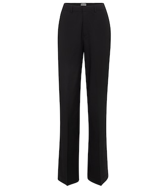 Co - Wide-leg wool pants - mytheresa.com