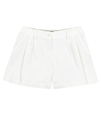Loro Piana Kids - Maelle cotton gabardine shorts - mytheresa.com