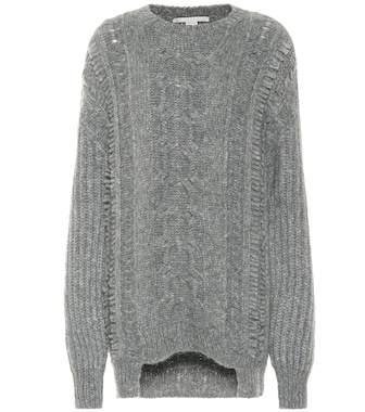 Stella McCartney - Alpaca and wool-blend sweater - mytheresa.com