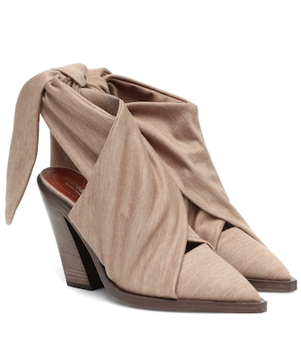 Burberry - Tillington technical wool mules - mytheresa.com