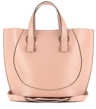 Victoria Beckham - Small Tulip leather tote - mytheresa.com