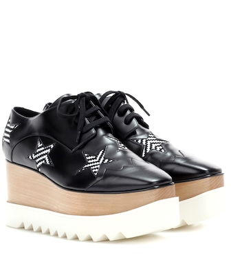 Stella McCartney - Elyse Star platform Derby shoes - mytheresa.com