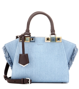 Fendi - 3Jours Mini denim tote - mytheresa.com