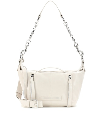 McQ Alexander McQueen - Mini Hobo leather shoulder bag - mytheresa.com