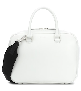 Jil Sander - Leather tote - mytheresa.com