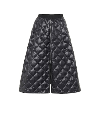 Moncler - Quilted down midi skirt - mytheresa.com