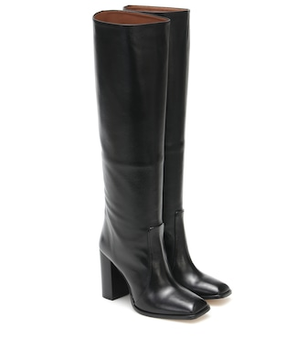 Paris Texas - Exclusive to Mytheresa – Leather knee-high boots - mytheresa.com