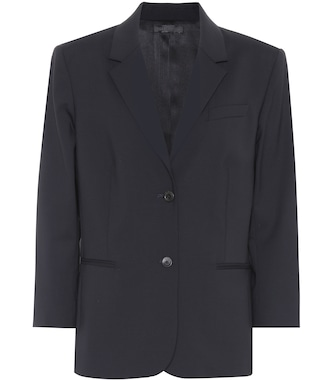 The Row - Schoolboy wool blazer - mytheresa.com