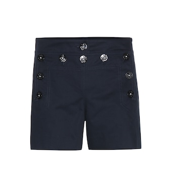 Dolce & Gabbana - Cotton-twill shorts - mytheresa.com
