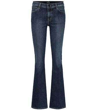 J Brand - Sallie high-rise flared jeans - mytheresa.com