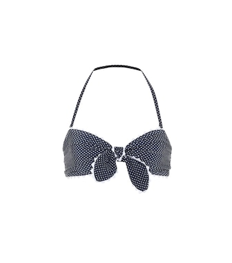 Karla Colletto - Coco polka-dot bikini top - mytheresa.com