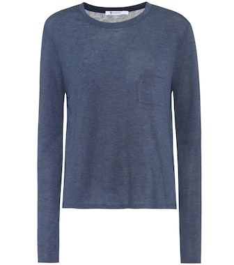 T by Alexander Wang - Long-sleeved jersey top - mytheresa.com