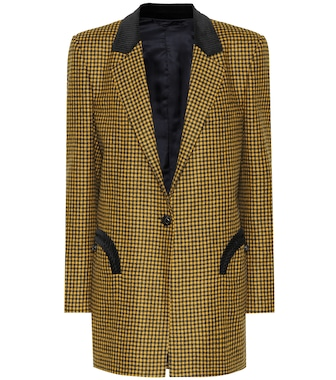 Blazé Milano - Timeless checked wool blazer - mytheresa.com