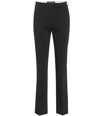 Etro - Cropped mid-rise straight pants - mytheresa.com