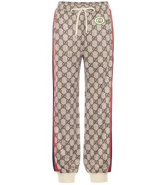 Gucci - GG Supreme trackpants - mytheresa.com