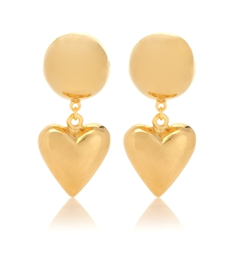 Sophie Buhai - Love 18kt gold-plated earrings - mytheresa.com