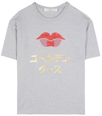 Golden Goose Deluxe Brand - Grace printed cotton T-shirt - mytheresa.com