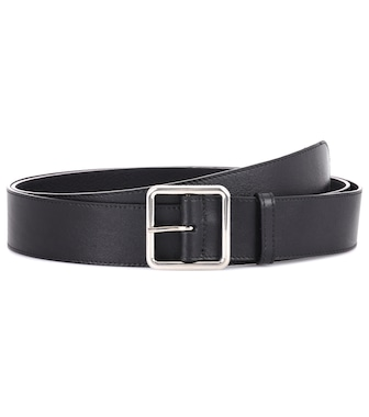 Alexander McQueen - Leather belt - mytheresa.com
