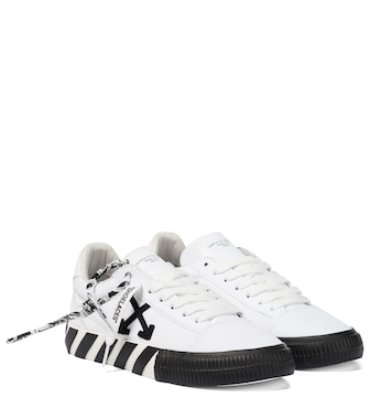 Off-White - Low Vulcanized canvas sneakers - mytheresa.com