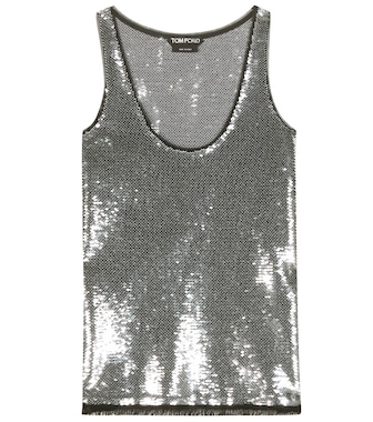 Tom Ford - Top con paillettes - mytheresa.com