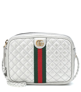 Gucci - GG quilted leather crossbody bag - mytheresa.com