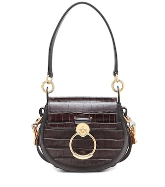 Chloé - Tess Small leather shoulder bag - mytheresa.com