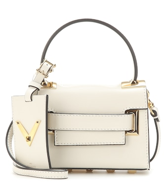 Valentino - Valentino Garavani My Rockstud Mini leather shoulder bag - mytheresa.com
