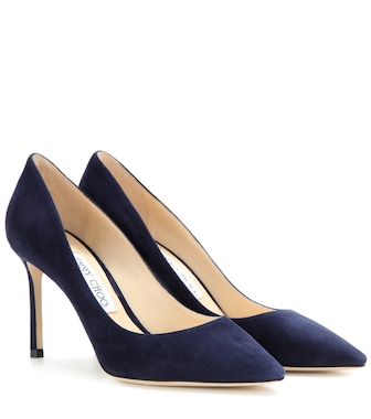 Jimmy Choo - Romy 85 suede pumps - mytheresa.com