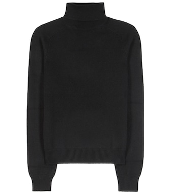 Saint Laurent - Cashmere turtleneck sweater - mytheresa.com