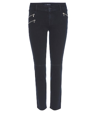 7 For All Mankind - Roxanne Crop slim-fit jeans - mytheresa.com