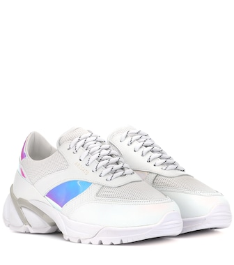 Axel Arigato - Tech Runner leather sneakers - mytheresa.com