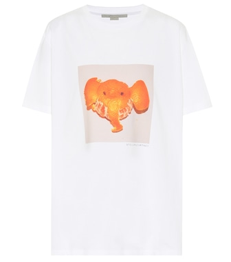 Stella McCartney - Organic cotton-jersey T-shirt - mytheresa.com