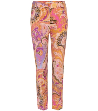 Etro - Printed trousers - mytheresa.com