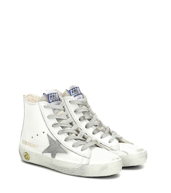 Golden Goose Kids - Francy high-top leather sneakers - mytheresa.com
