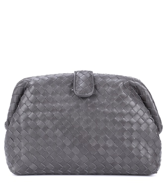 Bottega Veneta - Clutch The Lauren 1980 in pelle intrecciata - mytheresa.com