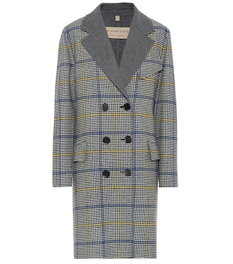 Burberry - Double-faced wool and cashmere coat - mytheresa.com