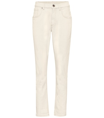 Brunello Cucinelli - High-rise straight jeans - mytheresa.com