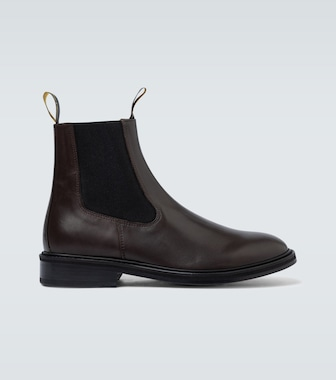 Lanvin - Chelsea leather ankle boots - mytheresa.com