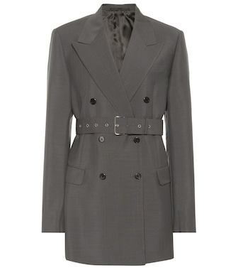 Prada - Mohair and wool blazer - mytheresa.com