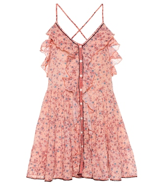Poupette St Barth - Tamara ruffled minidress - mytheresa.com