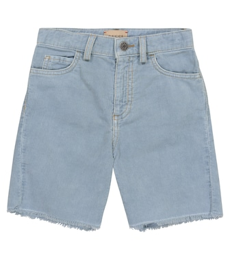 Gucci Kids - Corduroy denim shorts - mytheresa.com