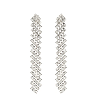 Jennifer Behr - Pixie crystal-embellished earrings - mytheresa.com