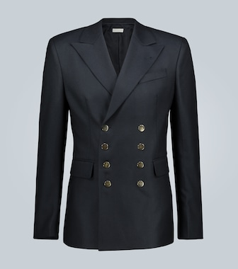 Dries Van Noten - Double-breasted wool blazer - mytheresa.com