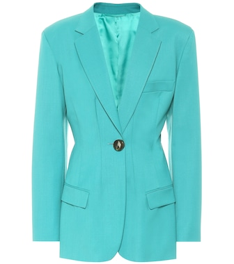 The Attico - Donna stretch-wool blazer - mytheresa.com