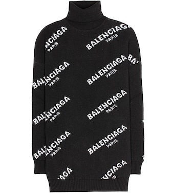 Balenciaga - Wool turtleneck sweater - mytheresa.com