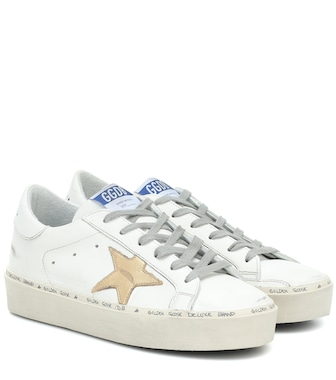 Golden Goose - Hi Star leather sneakers - mytheresa.com